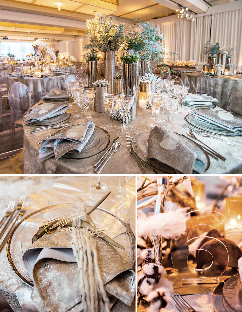 mixed-metal-wedding-tables