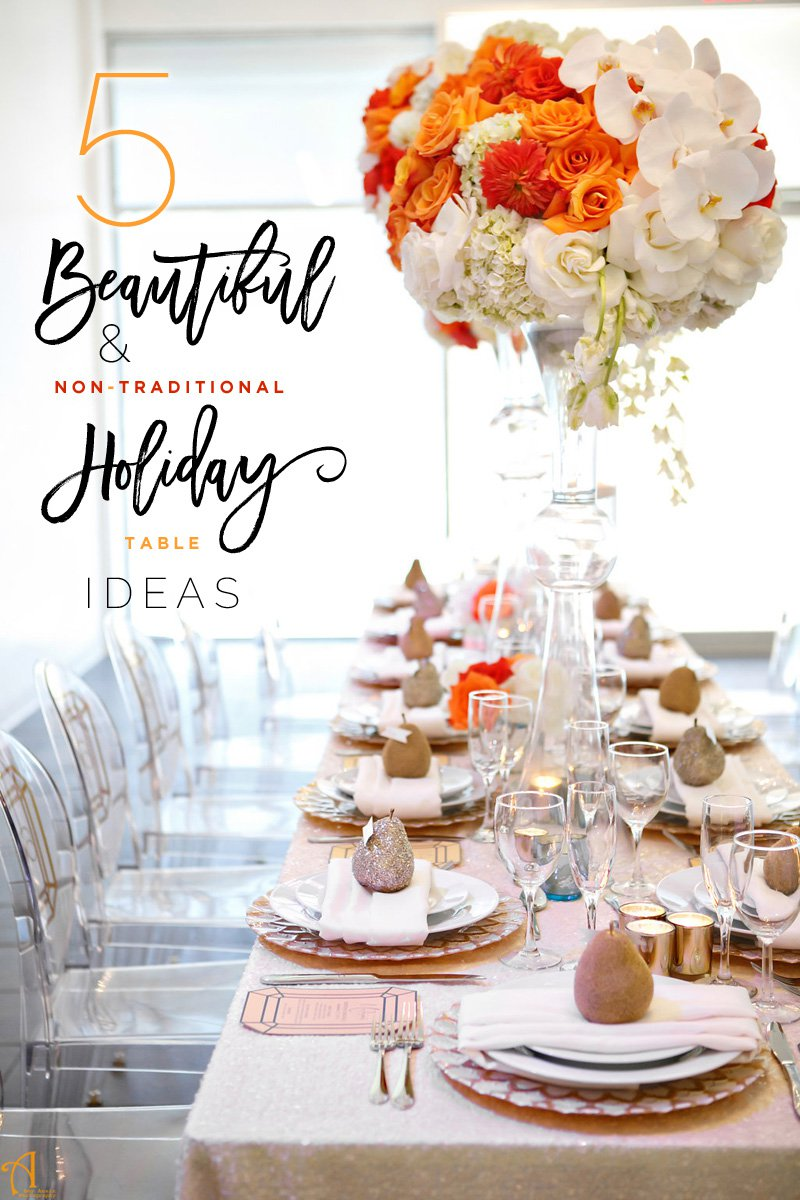 Holiday Table Decor That Shines Something Borrowed Party
