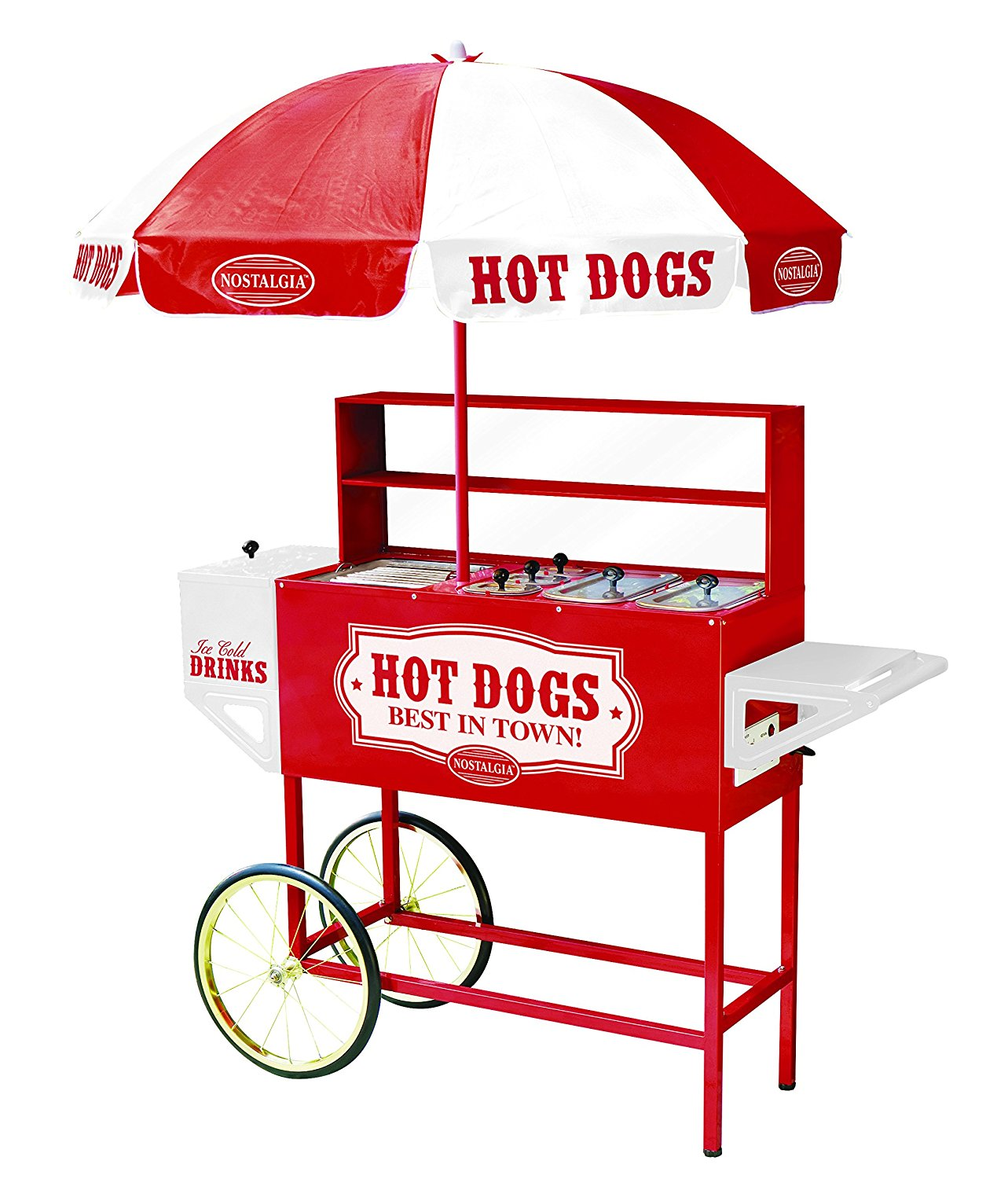 Hot Dog Vending Cart