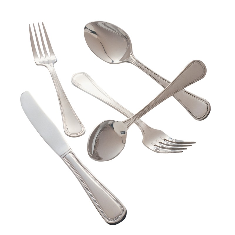 pearl pattern flatware