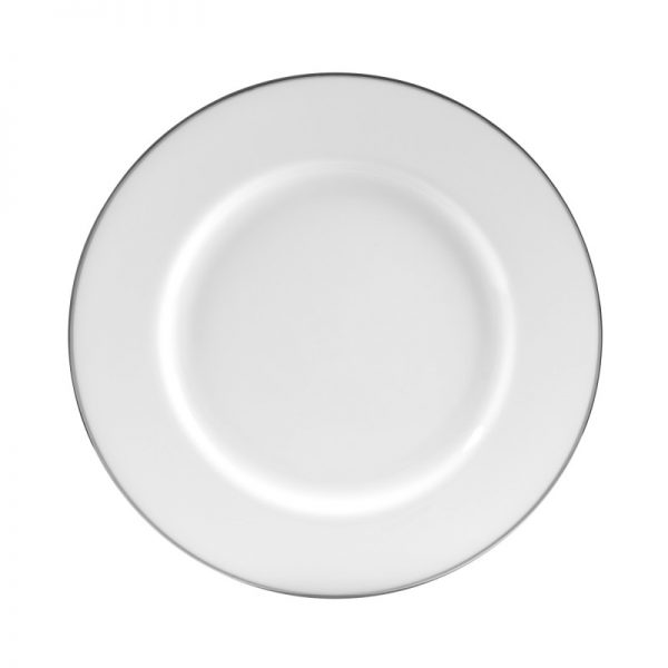 silver line dinner plate
